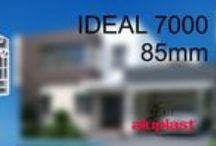 aluplast IDEAL 7000 / Η IDEAL 7000® classic-line είναι μία σειρά με έξι θαλάμους, δύο επίπεδα σφράγισης και βάθος κατασκευής στα 85mm με φυσικό επακόλουθο κορυφαίους δείκτες σε θερμομόνωση και ηχομόνωση. Ευχάριστο και άνετο κλίμα στο σπίτι με μειωμένα έξοδα θέρμανσης και ψύξης.