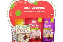 This Valentine's Day Show Your Love with Fruits in Chocolate! / FREE SHIPPING on $49 order of Dark Chocolate Covered Prunes, Apricots and Cherries!