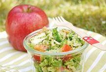 Healty Food / Inspirationen für gesunde Mahlzeit von Frühstück bis Abendessen
