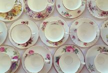 Violet's wares / Our collection of pre-loved crockery, glass and silverware add the perfect finishing touches to bridal / baby showers, kitchen tea's and parties.