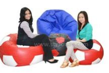 "Bean Bags / ""STYRO"" Bean Bags come in a range and variety of colors, shapes and sizes, you can find a bean bag at STYRO to suit your exact requirements; from fun children's bean bags to jumbo bean bags, lounge bags for watching television and lying back to total relaxation. STYRO uses high quality synthetic fabric and fire retardant grade beans to ensure comfort and safety. STYRO offers ""Bean bag Re-fills"" as a service at very nominal cost. Customers can avail the service to refill their existing beanbags."
