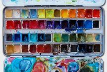 ACQUERELLANDO...watercolor...