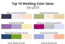 Wedding color Pallettes
