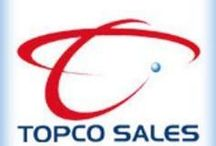 Topco Sales Australia / Display of Topco Sales brand products available via Kanoodle.com.au