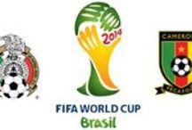 México 1-0 Camerún // Mexico 1-0 Cameroon / México, firme en el debut (1-0) México venció por 1-0 a Camerún en el debut de ambos equipos en el Grupo A de la Copa Mundial de la FIFA. En un partido de mucha paridad, disputado en Natal, los aztecas ganaron con un gol de Oribe Peralta.