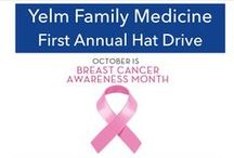 Hat Drive 2014 / Yelm Family Medicine is running our First Annual Hat Drive in the hopes of collecting hats, scarves, prayer shawls, and other comfort items to donate to patients undergoing chemotherapy. We felt this was an appropriate way to mark Breast Cancer Awareness Month.