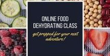 FOOD DEHYDRATING GUIDES / Step-by-step guides on food dehydrating