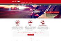weboldal design / weboldal design tervek