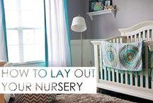 Nursery Design / The cutest nursery design ideas you've ever seen. Ideas and dreams for your little one's space. #nursery #nurserydesign #nursery #babyspace