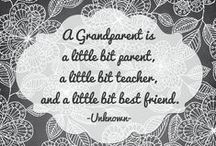 Grandparenting / Celebrating how awesome Grandparents are and fun things to do with those adorable grandchildren. #grandparents #grandchildren