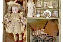 antique dolls / by Olga