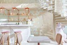 Restaurant + Shop Design / Restaurant design, shop design, retail design, interior design, architecture, concepts.