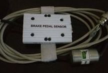 Brake Pedal Sensor (BPS) / Typically used electromagnetical sensors to sense the brake pedal force.Simtest Dynamics Designed BPS (brake pedal Sensor)  is very low profile sensor for measuring pressure on brake pedals.