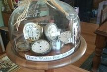 Clock & Cloches - domed, displayed treasures