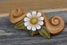 Přírodní motivy, nature from wood, hand made by Hanka Čížková / Velice ráda vyrábím přírodní motivy :)