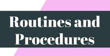Routines and Procedures / Routines and procedures are so important, on this board, I have pinned plenty of great routines for yourself and your class.