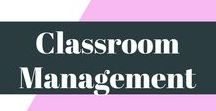 Classroom Management / This board is full of classroom management ideas for primary, secondary and high school teachers.