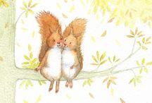 Squirrels / Oh my god a squirrel!
