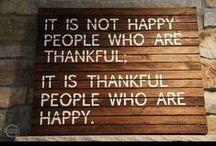 Dankbaarheid /  DANKBAARHEID. Een gelukkig hart is het gevolg van een dankbaar hart!