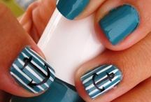 nails and makeup design..