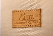 Elite Leather & Canvas  / Elite Leather & Canvas handrcrafts personalised Safari in style products / by Bushtops Camps