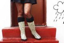 Botas para la lluvia / Rain Boots