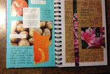Journal  / Ei art journal, ei junk journal, olkoon siis pelkkä journal...   Not an art journal, not a junk journal, just a journal...