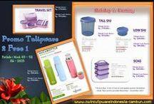 Promo Tulipware November - Desember 2013 / Pada Board ini terdapat beberapa flyer Tulipware, antara lain : Promo 2 Free 1, Promo Berhadiah/1 Free 1, Level Gift, dan BOOM yang berlaku untuk periode bulan November - Desember 2013  / by Twin Tulipware