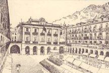 Donostia QR / Proyecto del Area de Historia, Filosofía, Lengua (Castellana, Extranjera y Autonómica) y Tecnologías de la Información y Comunicación de 1º de Bachillerato en CPES Nazaret BHIP.