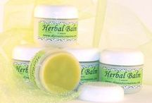 Herbal Products / SkinTastic products with herbs infused into the oils used.