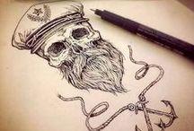 Skulls wear Beards / Skulls wear Beards
