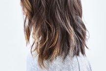 Hair / Hair Ideas / Hair Tutorials / Short Hair Ideas / Hairstyles / Braids / Fishtail / Updos