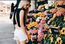 blooming / floral
