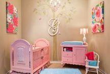Dormitorios de bebé con glamour / Dormitorios de bebé con mucho estilo y glamour