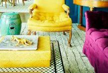 Interior / lots of color