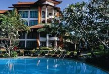 Beautiful Bali / This remote Indonesian paradise is heaven on earth, complete with lush green gardens, white sandy beaches and bright blue waters.   Discover the beauty of Bali at Sol Beach House Benoa Bali…