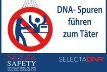 """Künstliche DNA / DNA-Dusche / DNA Spraysystem / Die Spray-Anlage (""""DNA-Dusche"""") soll die Überführung von Tätern erleichtern und dadurch auch potentielle Räuber, Einbrecher und Diebe von vorn herein abschrecken."""
