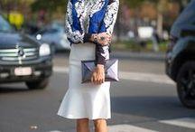 Saias: só as tops! / Saias de renda, midi, comprimento Chanel, modelo sino, estampada, lisa e lindas!