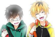 Kaneki, Hide & Rize / Tokyo Ghoul