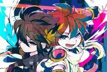 Pit & Dark Pit / Kid Icarus