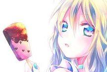 Anime & Manga Girls / Censored Art below! 0w0