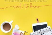 Handmade Business / Small & Handmade business tips & organization.