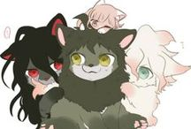 Fluffy - Ronpa / Mainly all art is drawn by Blue Tea. Dog/Animal versions of Danganronpa!