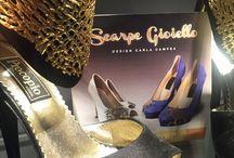 Moda Shoes whit sculpture / Applicazioni fatte a mano