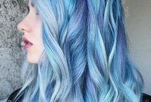 ♡ Blue Hair ♡