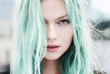 ♡ Green Hair ♡