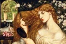 Art ~ Pre-Raphaelite Gallery / by poetess54