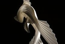 organic abstraction sculpture ideas