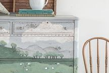 painted furnishings / ideas for our home