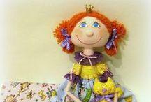 Текстильные куклы (rag dolls, muñecas) / Куклы, шитье кукол, идеи